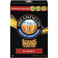 Dreamfields Pasta Healthy Carb Living, Elbow Macaroni, 13.25-Ounce Boxes (Pack of 6)