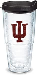Tervis Individual 带盖玻璃杯 透明 24oz COLL-LBLK-I-24-IN