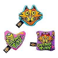 田田猫 薄荷猫玩具三件套猫玩具(添加美国有机猫薄荷)