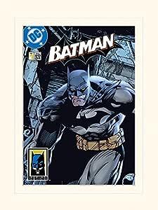 Pyramid International Batman (Prowl) 漫画封面印刷纪念品 30 x 40 厘米,纸,多色,30 x 40 x 1.3 厘米