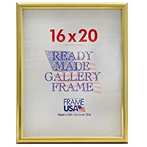 "Deluxe Posterframe Frames, 16 x 20"", Gold"