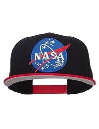 LUNAR NASA 拼接双色 snapback