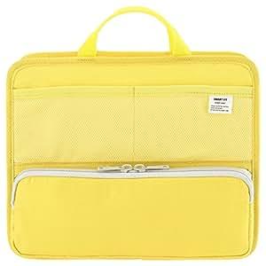 LIHIT LAB. 立式口袋 A5 横型 黄色