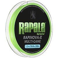 (Rapala) PE线RapalaX多用途游戏 200m 1.5号 29.8lb 酸橙绿 RLX200M15LG