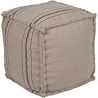 Artistic Weavers Oneida 小袋,16 x 16 x 18 英寸(约 40.6 x 40.6 x 45.7 厘米),驼色
