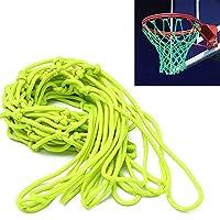 ETCBUYS Glow in The Dark Basketball Net - 户外网和篮球篮筐配件,外部篮球框的标准规定尺寸,儿童篮板和篮筐