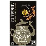 Clipper Fairtrade Organic Speciality Assam 50 Tea Bags (Pack of 6)