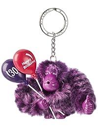 Kipling 猴子乐园 女式 猴子吊饰 K0068015Y00F 暗紫色 95*90*45mm