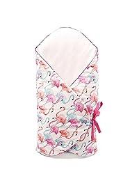 Sevira 儿童火烈鸟襁褓睡袋金色标签创新