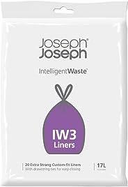 JOSEPH JOSEPH intelligent 垃圾一般垃圾护垫,17L ,黑色 - 1包20