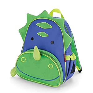 Skip Hop Zoo Pack Little Kid Backpack, Dinosaur