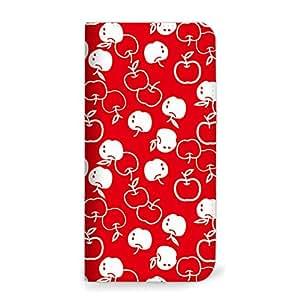 mitas iphone 手机壳853NB-0025-RW/VA-10J 32_VAIO Phone (VA-10J) レッド/ホワイト(ベルトなし)