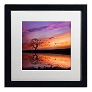 "Trademark Fine Art Dream Bigger Artwork by Philippe Sainte-Laudy, 16 by 16"", Black Frame, White Matte"