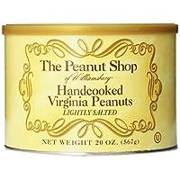 威廉斯堡的花生商店手工烹饪弗吉尼亚花生 20 盎司