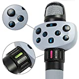Singing Machine 有线 Voice Changer and looping Hype 卡拉 OK 麦克风