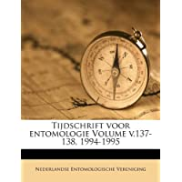 Tijdschrift Voor Entomologie Volume V.137-138, 1994-1995