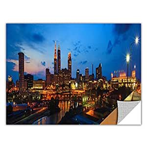Cody York's Cleveland 8 Art Appeelz Removable Wall Art Graphic, 12 by 24-Inch