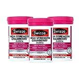 3瓶装|SWISSE 高含量蔓越莓 30粒 经期好闺蜜 支持女性健康 呵护泌尿系统 澳洲品牌 原装进口
