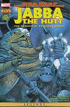 """Star Wars: Jabba The Hutt - The Hunger of Princess Nampi (1995) (Star Wars: Jabba The Hutt (1995-1996)) (English Edition)"",作者:[Jim Woodring, Mark Harrison, Art Wetherell]"