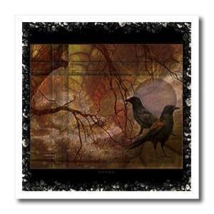 mimulux Raven and Crow Art - Ravens World fantasy DarkFantasy ravens raven crow mystic mysticism fantasy spiritworld - Iron on Heat Transfers