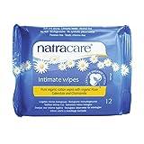 Natracare 有机棉私密湿巾,12 片(24 片装)