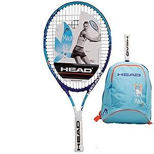 HEAD海德小德穆雷莎娃21/23/25寸儿童青少年专业碳复合网球拍 (2352021(25寸)送背包)