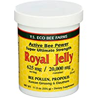 YS Organic Bee Farms - 活蜂力量王浆浆糊 20000 镁。11.5盎司