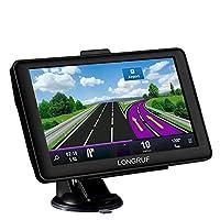 汽车 GPS 7 英寸触摸屏语音提示 GPS 导航内置 8GB 无需插入卡 + 多媒体和 FM 适用于带有终身地图