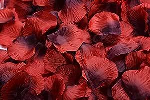 Magik 1000~5000 件丝绸花玫瑰花瓣婚礼派对意大利面桌装饰,各种选择 红色和黑色 3000 unknown