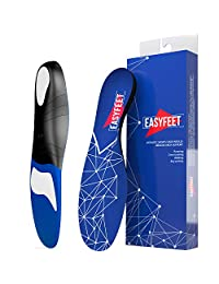 蓝色足底*足弓支撑鞋垫男女通用鞋垫 - *鞋垫 - 平脚脚 - 跑步运动凝胶鞋垫 大