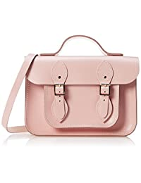 The Cambridge Satchel Company 女式 11英寸磁扣手提包 BAT111168MBN10101(亚马逊进口直采, 英国品牌)