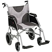 Drive DeVilbiss Healthcare 超轻 Enigma 转向轮椅,座椅宽 50.8 厘米