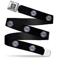 带扣式*带 - CHEVROLET SUPER SERVICE 徽标 黑色/蓝色/黄色/白色 - 2.54 cm 宽 - 50.80-91.44 cm 长