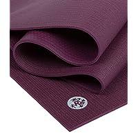 "Manduka PROlite 瑜伽垫 - 优质 4.7 毫米厚垫,环保,环保,环保纺织认证,不含任何化学物质。 高性能抓地力、超厚缓冲垫,可在瑜伽、普拉提、健身房和任何一般健身时提供支撑和稳定性。 Indulge 79""(Logo颜色变更,请以到货为准)"