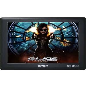 "Onda 昂达 VX610W豪华版 MID平板电脑(8G 黑色 7.0""800*480电容触摸屏,512MB内存,android 2.3智能系统,全格式2160P高清,内置WIFI,高性能3D显示,双屏显示"