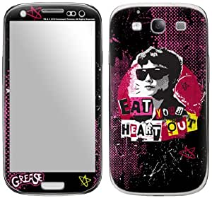 Zing Revolution Grease Premium Vinyl Adhesive Skin for Samsung Galaxy S III, Eat Your Heart Out (MS-GREA10415)