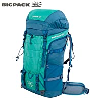BIGPACK派格 户外登山包 徒步包 双肩包 旅行包50L55L60L 400168