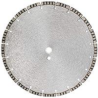 14 英寸(约 35.6 厘米)烧结 TURBO STYLE 10 毫米 干湿通用 混凝土钻石锯片 1 英寸(约 2.5 厘米)- 20 毫米木浆(1 个)