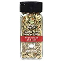Simply Organic Spice Right Everyday Seasoning Blends, All-purpose Salt-free, 1.8 Ounce