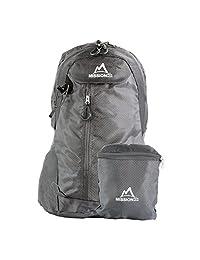 MISSION PEAK GEAR Fast 2100 30L 可折叠可折叠徒步背包背包背包背包背包,超轻,经久耐用,露营,户外,旅行,自行车,学校,携带背包