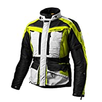 Shima Horizon 男士旅行透氣摩托車夾克, 黑色 (XS-3XL)