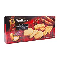 Walkers Shortbread 传统纯黄油小酥饼,17.6盎司/500克,来自苏格兰高地,优质成分,无人造香料
