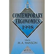 Contemporary Ergonomics 1998 (English Edition)