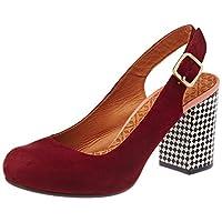chie mihara 女式 kantia 款后带挑空式高跟鞋