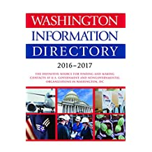 Washington Information Directory 2016-2017 (English Edition)