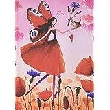 Paperblanks Mila-Marquis 系列 罂粟花园 笔记本 中号 横线