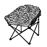 Urban Shop JK656793 俱乐部椅不适用,成人,*蓝 斑马色