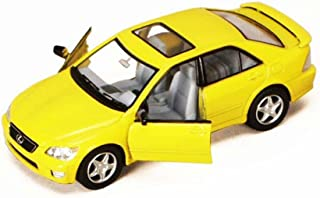 Lexus IS300, Yellow - Kinsmart 5046D - 1/36 scale Diecast Model Toy Car