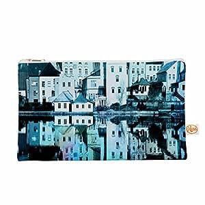 """KESS InHouse Suzanne Carter""""Night Sky"""" 蓝色水* Everything Bag 12.5 英寸 x 8.5 英寸 (SC2190AEP02)"""