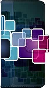 智能手机壳 手册式 对应全部机型 印刷手册 wn-547top 套 手册 图形艺术 UV印刷 壳WN-PR150612-ML Galaxy J SC-02F 图案G